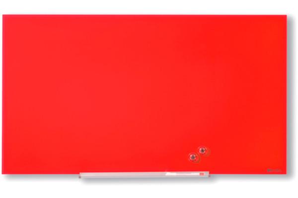 NOBO Glassboard 1905186 Diamond Red 1883X1059mm