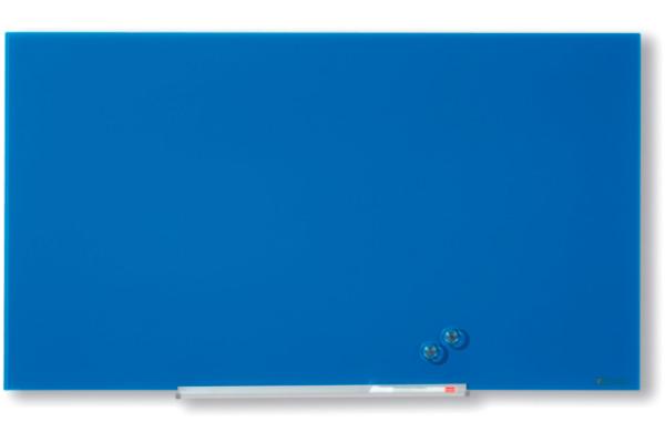 NOBO Glassboard 1905187 Diamond Blue 677X381mm