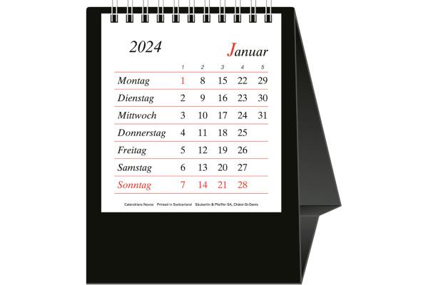 NOVOS Büro Pro Bristol D. 509056 11,5x13,5cm schwarz, 2021