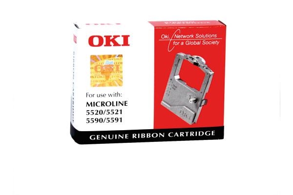 OKI Farbband Nylon schwarz 01126301 ML 5520 5590