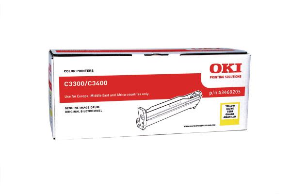 OKI Drum yellow 43460205 C3300/3400 15´000 Seiten