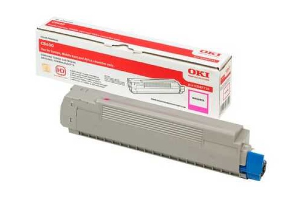 OKI Toner magenta 43487710 C8600 6000 Seiten