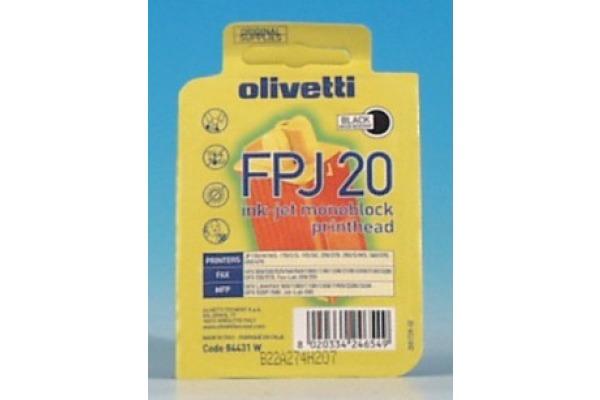 OLIVETTI Monoblock FPJ 20 schwarz B0384 Bubble Ink Jet JP 350