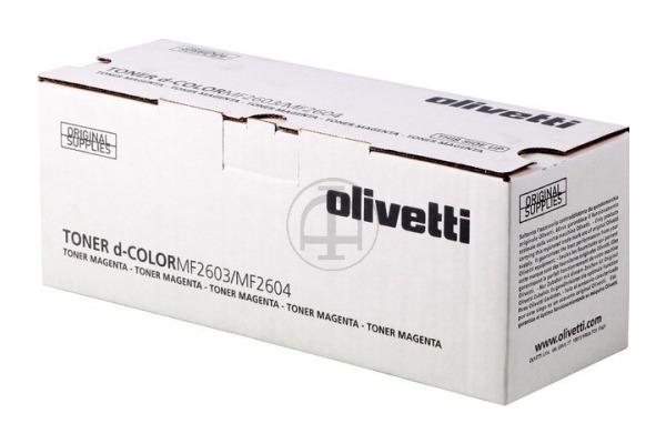 OLIVETTI Toner magenta B0948 d-Color 5´000 Seiten