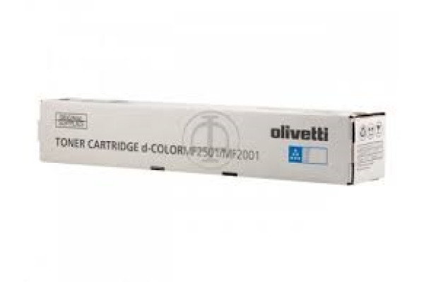 OLIVETTI Toner cyan B0991 d-Color MF 2001 6´000 Seiten