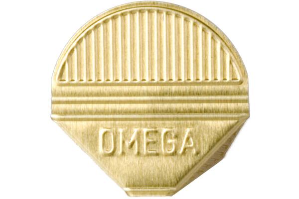 OMEGA Eckklammern 100/22 gold 100 Stk.