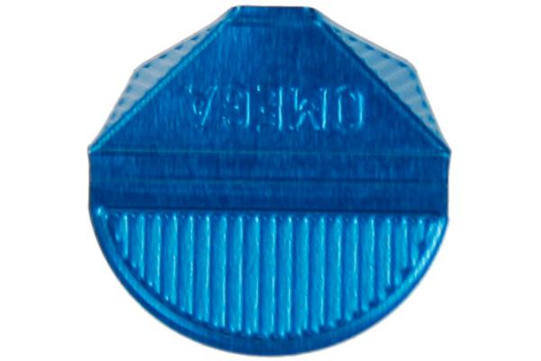 OMEGA Eckklammern 100/25 blau 100 Stk.