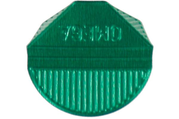 OMEGA Eckklammern 100 27 grün 100 Stück