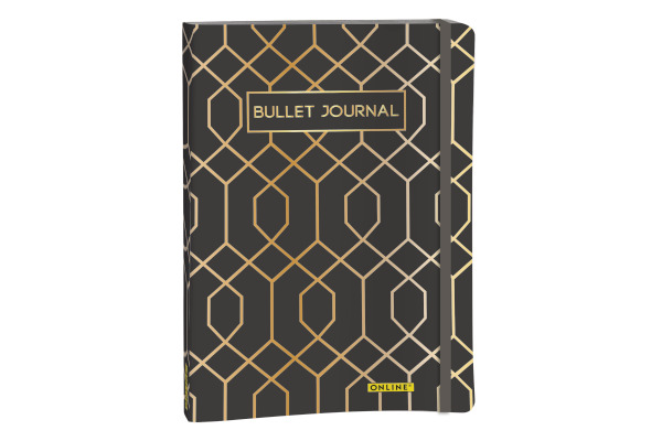 ONLINE Bullet Journal A5 02245 Art Deco 96 Blatt
