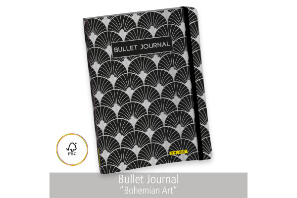 ONLINE Bullet Journal A5 02249 Bohemian Art 96 Blatt