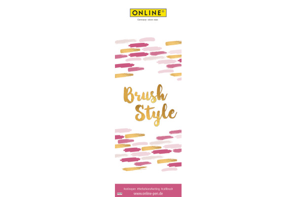 ONLINE Poster 43x127 95278/202 Brush Style