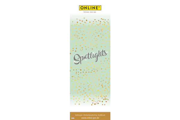 ONLINE Poster 43x127 96836/202 Spotlights