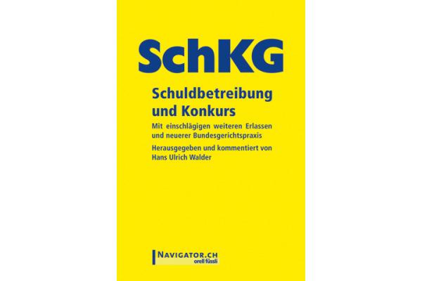 ORELL F. SchKG Schuldbetreib. Konkurs 280073193 135x180mm Studienausgabe