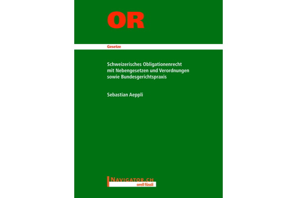 ORELL F. OR CH Obligationenrecht 280073612 135x180mm Studienausgabe