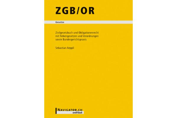 ORELL F. ZGB/OR CH Recht 280704022 130x180mm