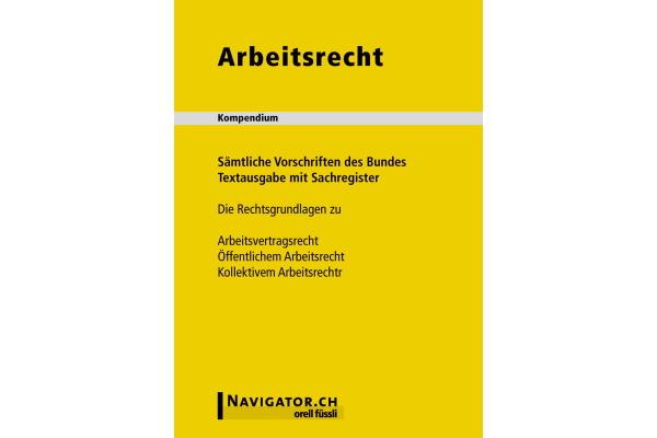 ORELL-FÜSSLI Arbeitsrecht DE 130x180mm...