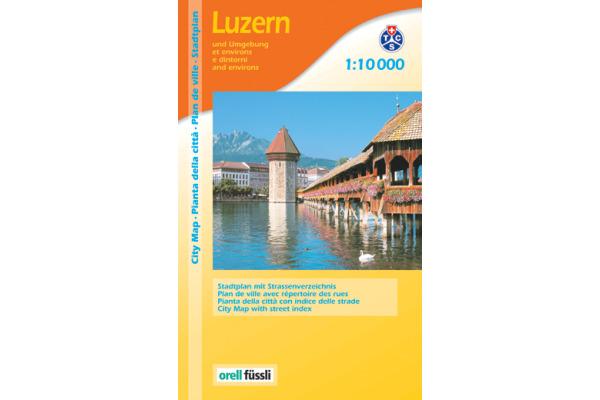 ORELL F. Stadtführer 907594933 Luzern 1:10´000