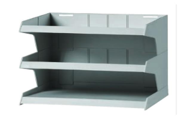 ORNALON Aktensortierer R10640750 3-teilig grau
