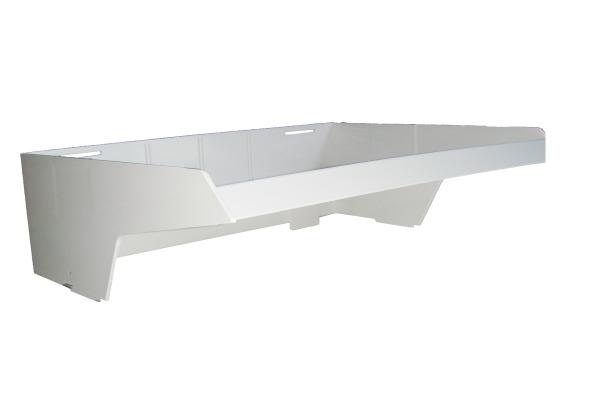 ORNALON Aktensortierer-Aufbauelement R10651750 33,5x26,5x3cm grau