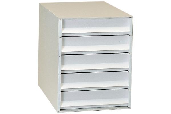 ORNALON Schubladenbox grau R121057592 5 Fächer
