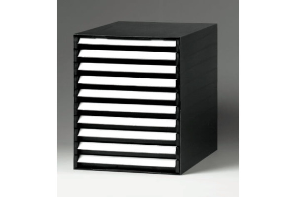 ORNALON chubladenbox schwarz R121109999 3 cm hoch
