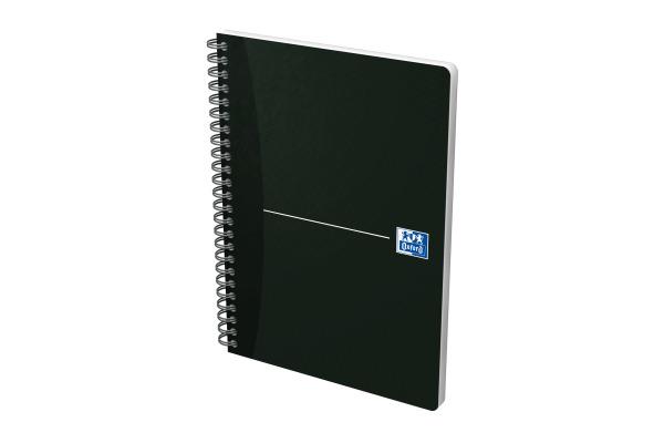 Oxford Office Spiralbuch DIN A4 kariert 90 Blatt Karton 1 Stück