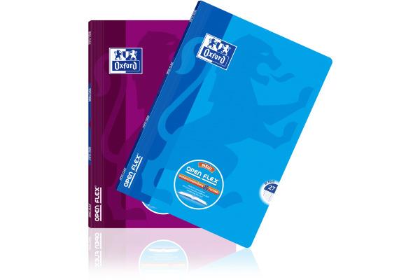 OXFORD Schulheft OpenFlex A4 400095633 32 Blatt, ass. L27 pink/blau