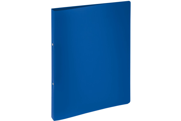 PAGNA Ringbuch 23mm A4 20901-07 blau PP 2-Ring-Mechanik