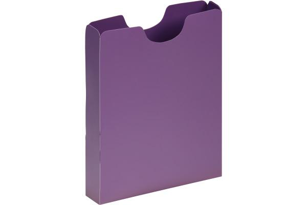 PAGNA Schulheftbox A4 21005-12 lila PP