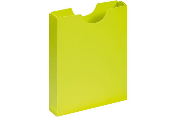 PAGNA Schulheftbox A4 21005-17 lindgrün PP