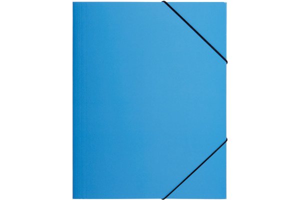 PAGNA Gummizugmappe Trend ass. A4 21614-00 Karton 3 Einschlagklappen