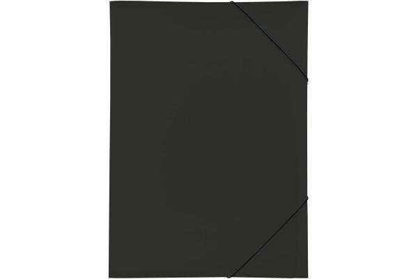 PAGNA Gummizugmappe A3 21638-01 schwarz PP 3...