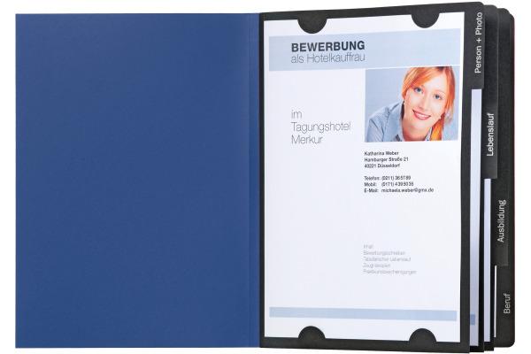 PAGNA Bewerbungsmappe Success 22010-02 blau