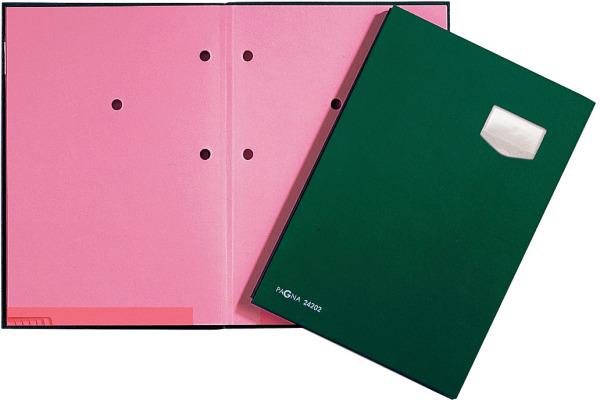 PAGNA Unterschriftenmappe A4 24102-03 grün