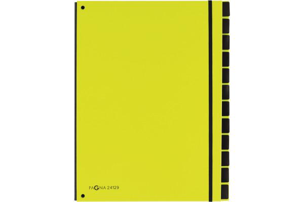 PAGNA Pultordner Trend A4 24129-17 lindgrün 12...