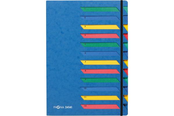 PAGNA Deskorganizer A4 24141-02 blau
