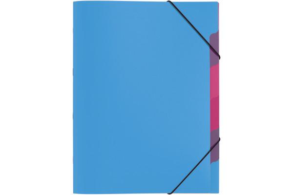 PAGNA Ordnungsmappe A4 41803-13 hellblau 5-teilig