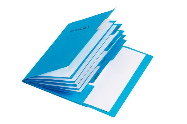 PAGNA Personalakte 5-teilig 44105-02 blau
