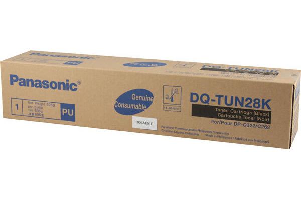 PANASONIC Toner schwarz DQ-TUN28K DP-C262-PM 28´000 Seiten