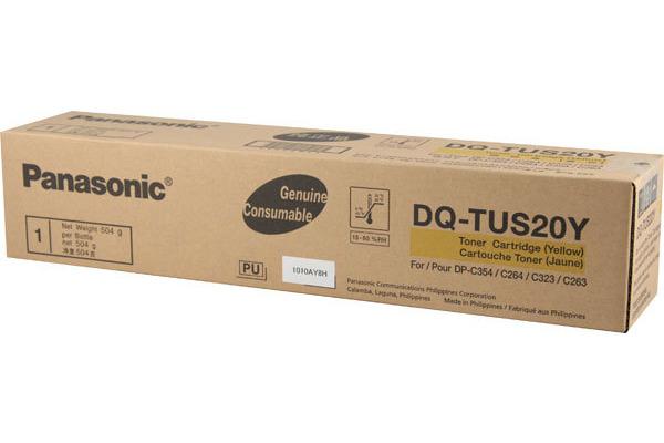 PANASONIC Toner yellow DQ-TUS20Y DP-C264-PM 20´000 Seiten