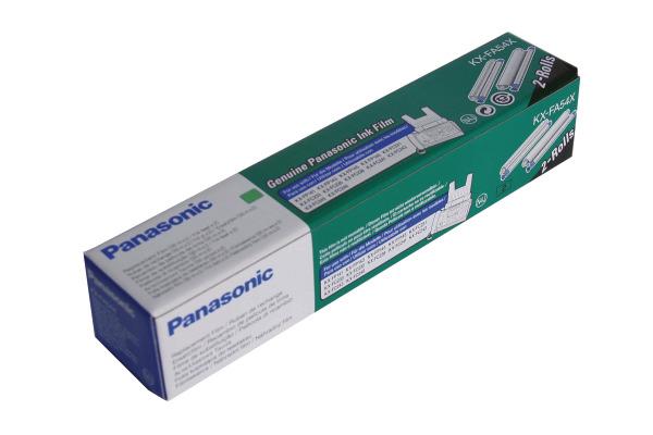 PANASONIC TTR-Band schwarz KX-FA54X KX-FP145 2 Rollen