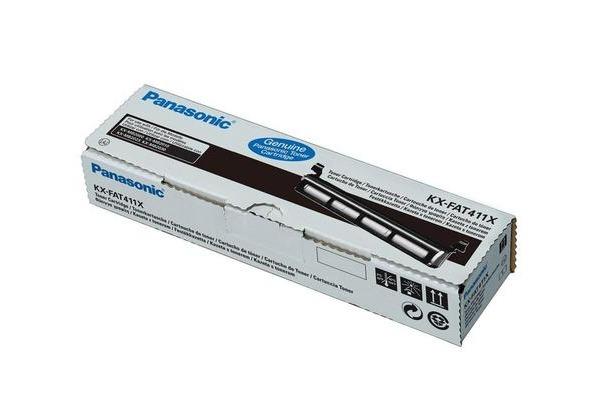 PANASONIC Toner schwarz KX-FAT411 KX-MB2000G