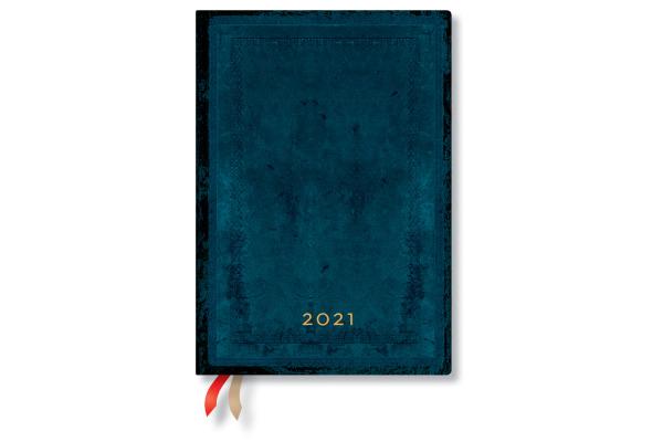 PAPERBLAN Agenda Calypso Schlicht 21 FD6770-2 130×180mm, de, Flexi, 12M