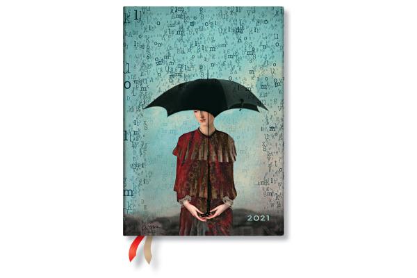 PAPERBLAN Agenda Wordscapes 21 FD6775-7 130×180mm, de, Flexi, 12M