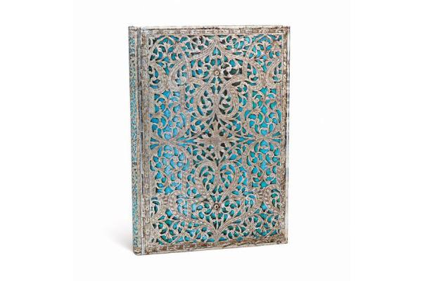 PAPERBLAN Maya Blau Midi PB2653-2 Adressbuch 130x180mm, 144 Seiten