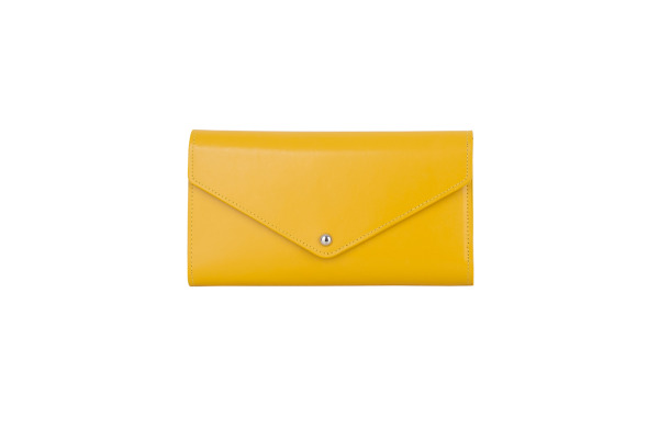 PAPERTH. Travel Envelope PT04494 21,5x11cm yellow gold