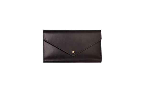 PAPERTH. Travel Envelope PT04586 21,5x11cm black