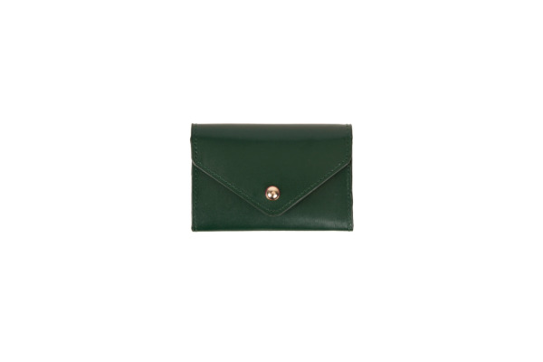 PAPERTH. Card Envelope PT04685 7,5x11cm deep olive