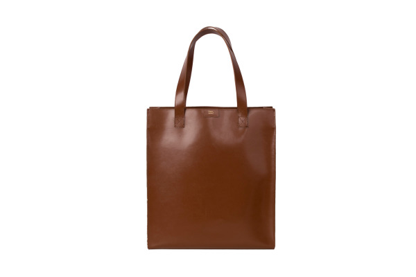 PAPERTH. Long Tote Bag PT05132 35x40x13cm tan