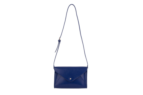 PAPERTH. small Envelope Bag PT05552 28x19x5cm blau